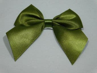 Olive dark Green Satin ribbon Double sided 3mm 7mm 10mm 15mm 25mm 38mm 50mm Roll Bow